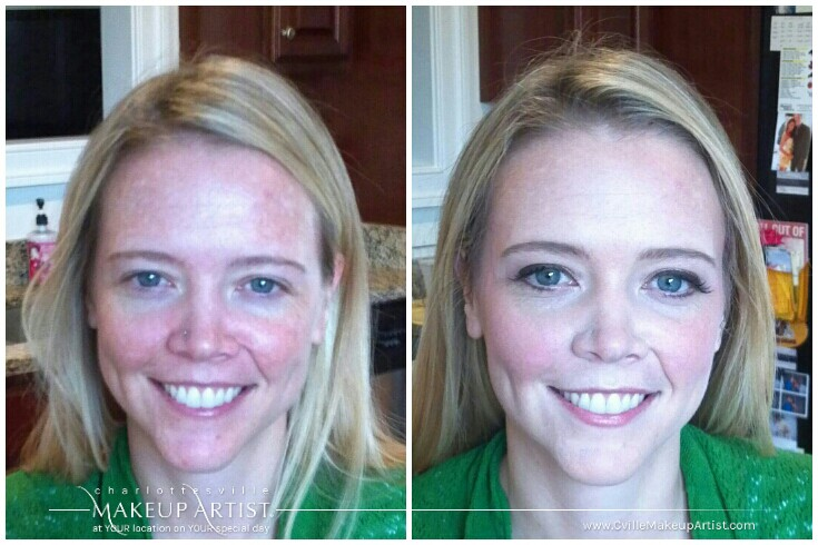 Real Before Afters Charlottesville Makeup Artist Llc