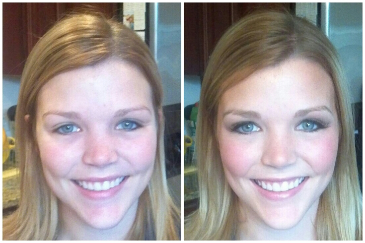 Bridal Makeup Pictures Before And After : Charlottesville Makeup Artist LLC Wedding Makeup and Hair