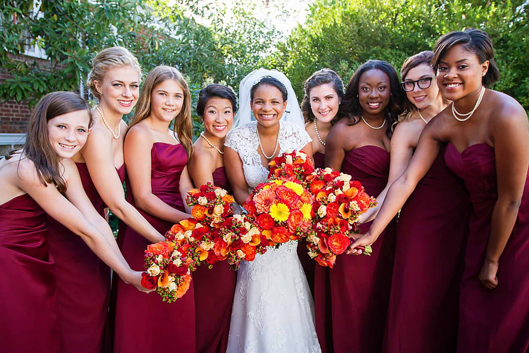 Fall Wedding Makeup And Hairstyles