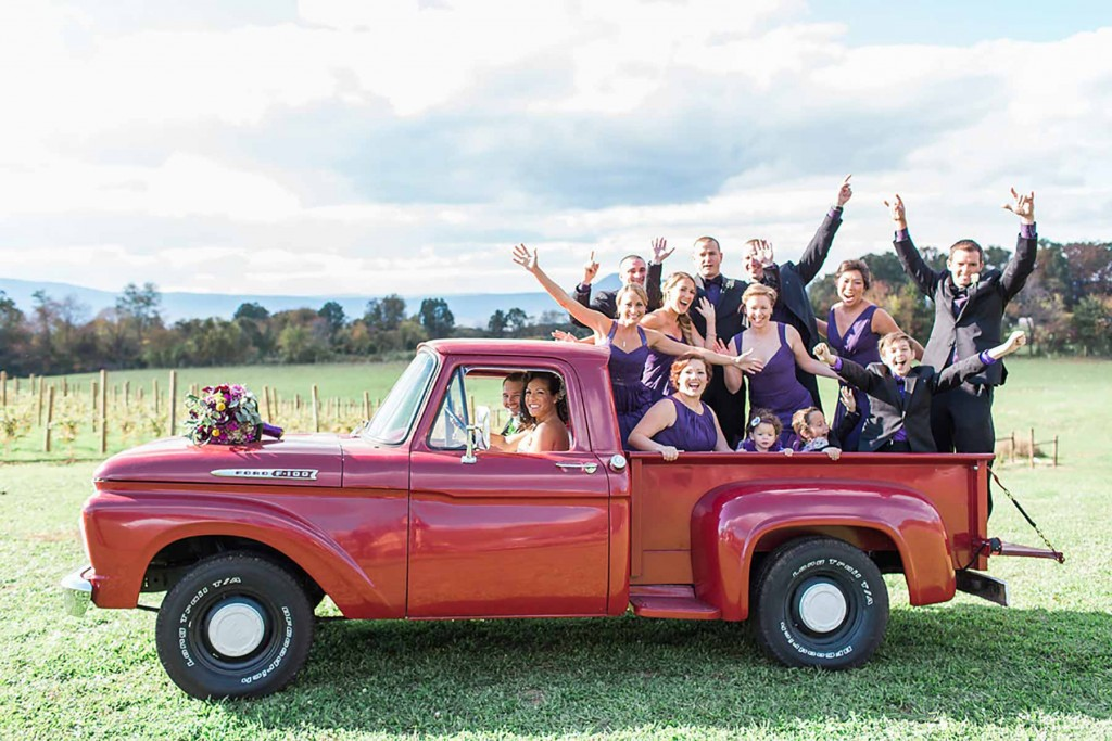 best bridal party photo