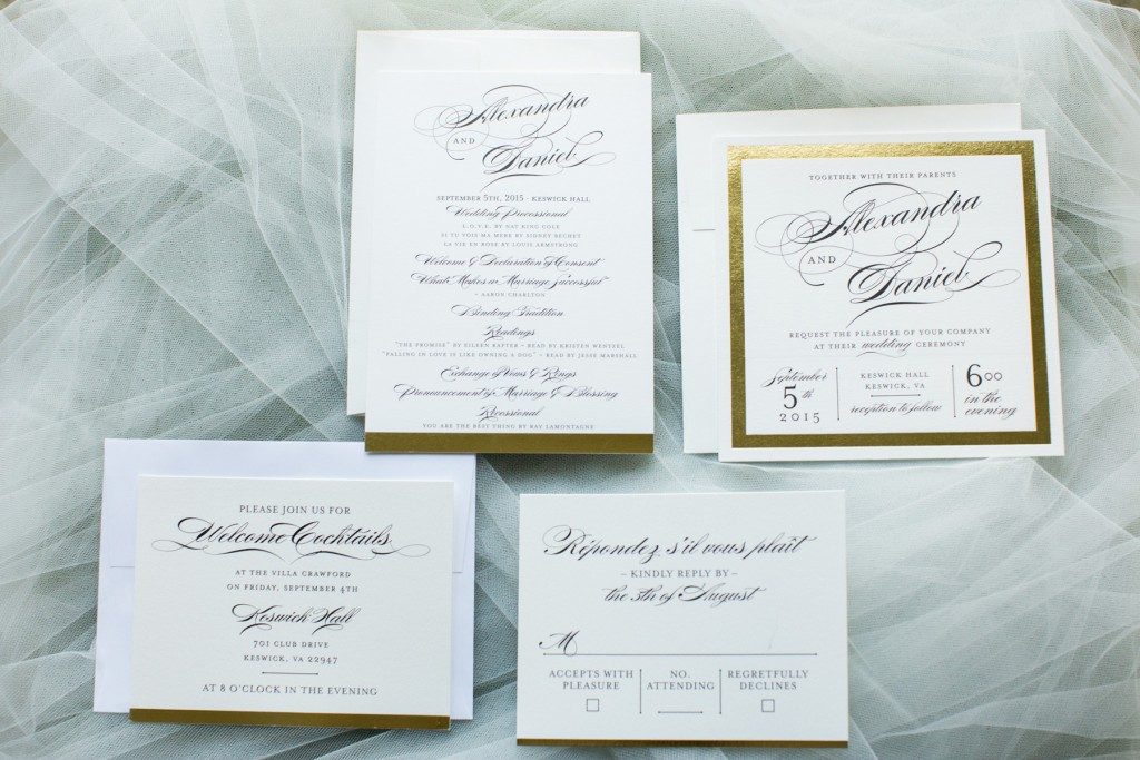 wedding paper suite