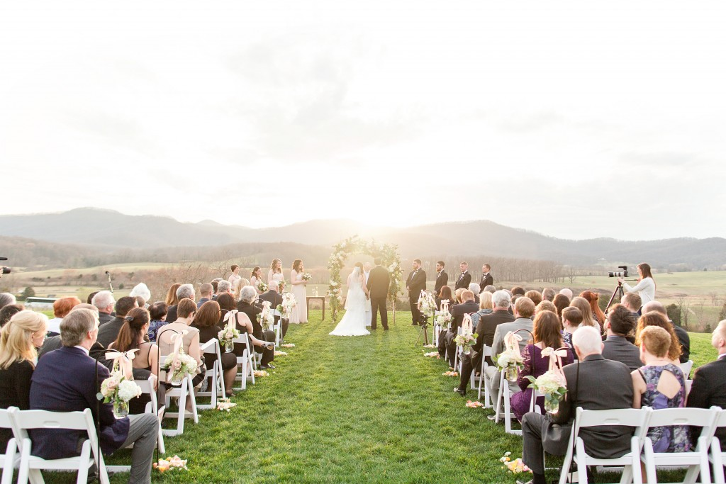 pippin hill wedding ceremony