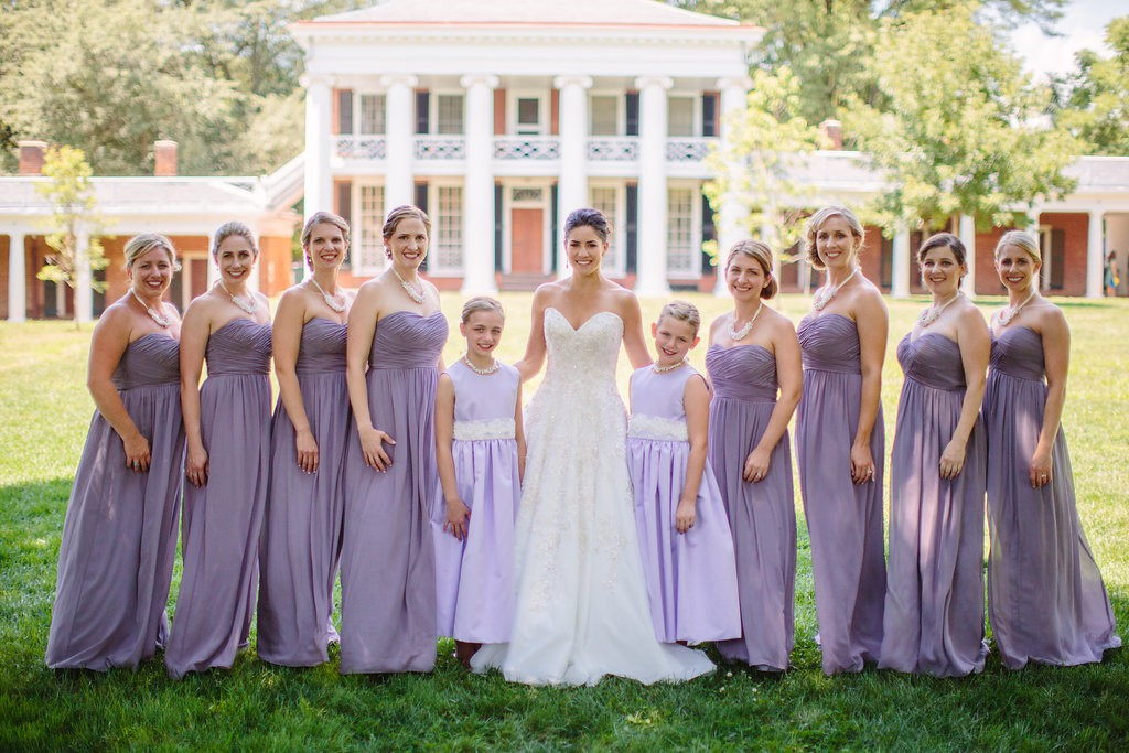 violet wedding colors