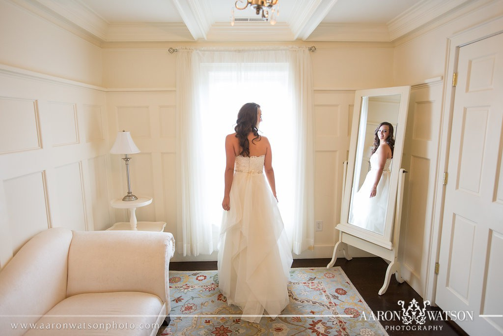 veritas winery bridal suite