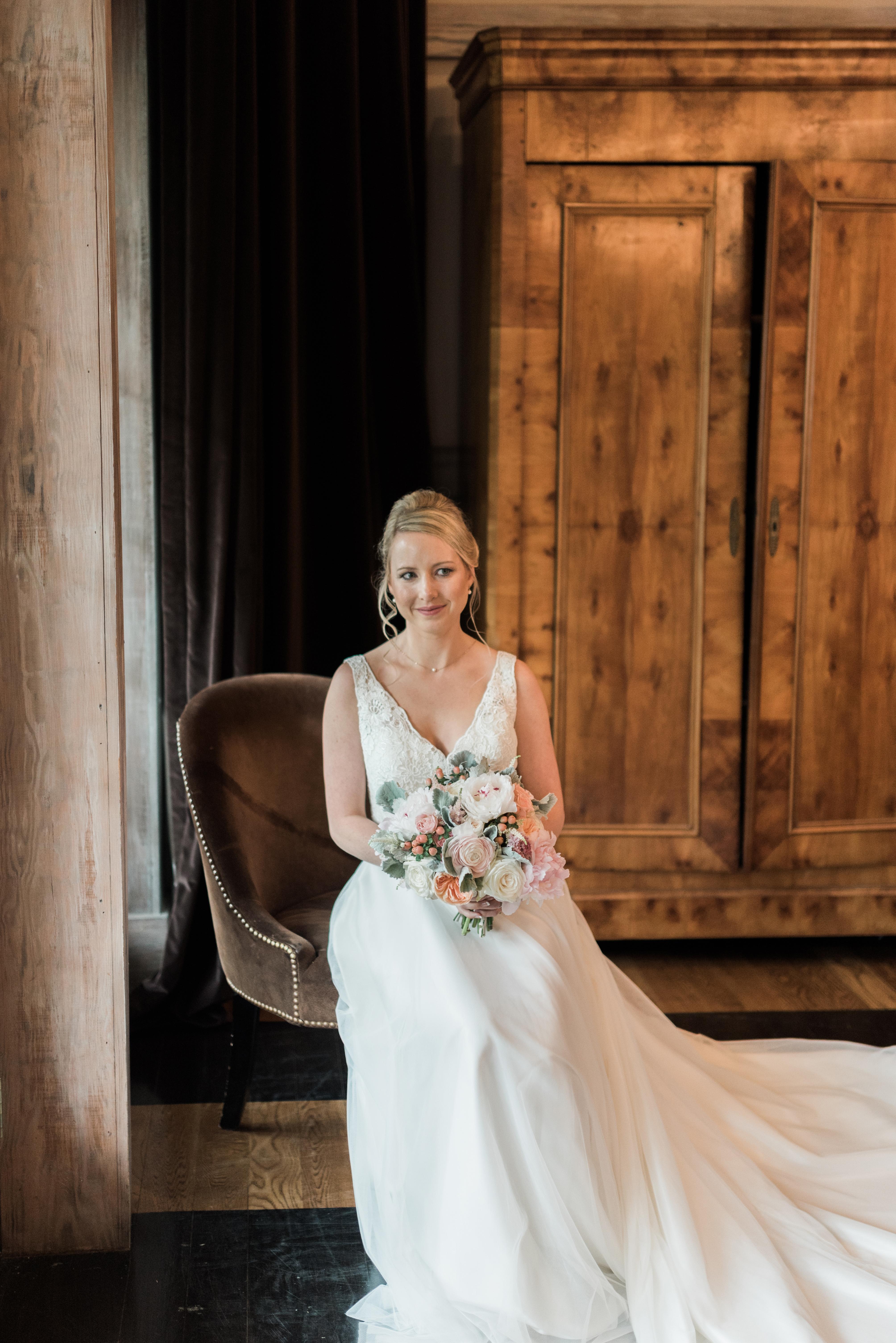 wedding portraits bride