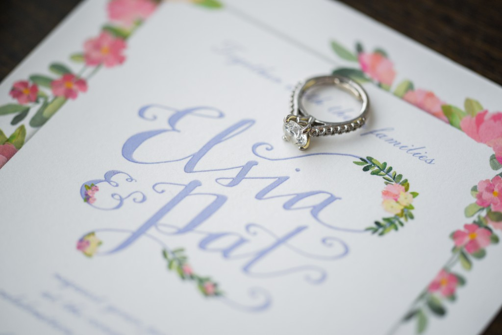 summer wedding paper suite