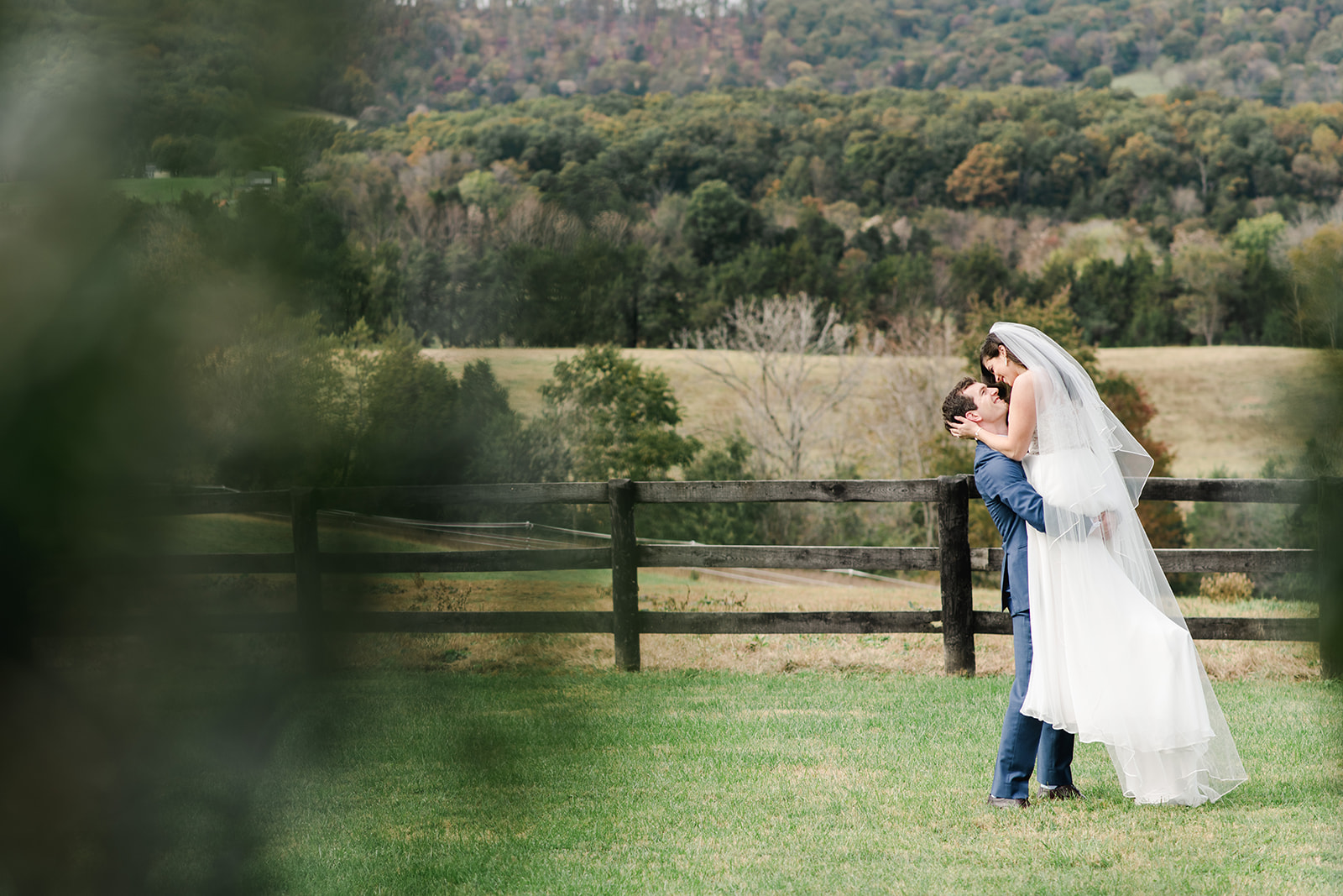 Sarah and Taylor 3 Cats Photo Blue Ridge Mountain Wedding Photographer 61185 copy