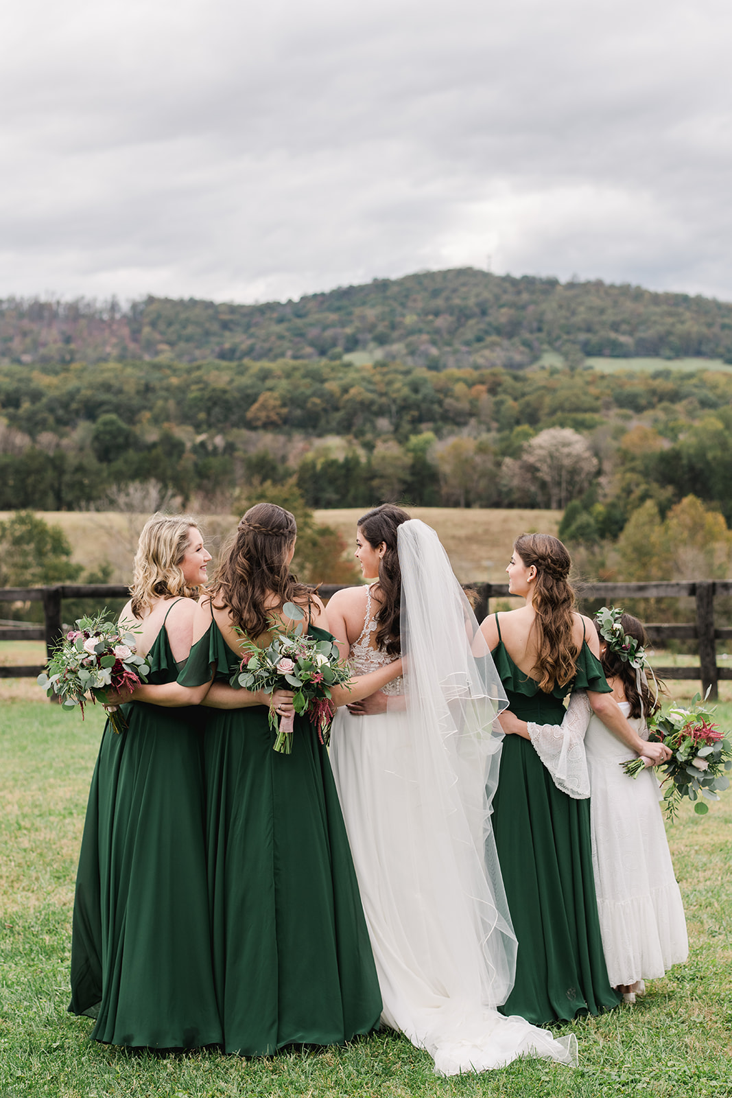 Sarah and Taylor 3 Cats Photo Blue Ridge Mountain Wedding Photographer 61591 copy